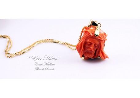 """""""Ecce Homo"""" Coral Necklace"""