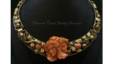 """Adam and Eve"" Coral Necklace"