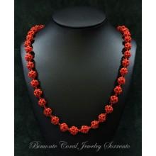 """Rosetta"" Coral Necklace"