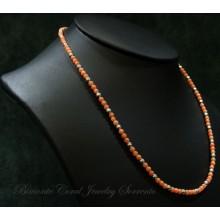 """Niseros"" Pink Coral Necklace"