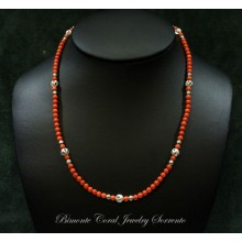 """Donna"" Coral Necklace"