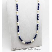 """Amalfi Coast Blue"" Lapis Lazuli Necklace"