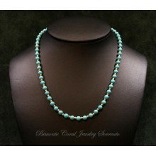 """""""Cielo"""" Turquoise Stone Necklace"""