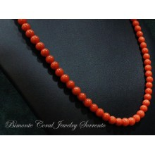 6/ 6,5 mm Red Italian Coral