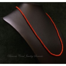 3 mm Red Italian Coral