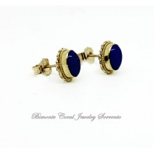 """Blue"" Lapis Lazuli Stone Earrings"