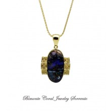 """Earth"" Boulder Opal Necklace"