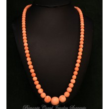 """""""Rosaduntempo"""" Pink Coral Necklace"""