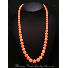 """""""Belrosa"""" Pink Coral Necklace"""
