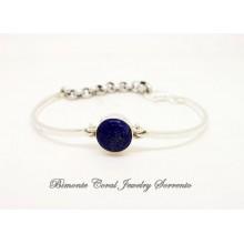 """Manetta"" Lapis Lazuli Stone Bracelet"