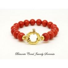 """Dieci"" Italian Coral Bracelet"