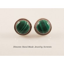 Malakite Stone Earrings
