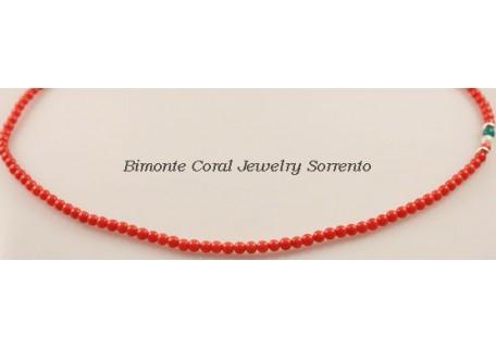 """""""Italiano"""" Coral Necklace"""