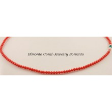 """Italiano"" Coral Necklace"