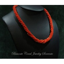 """""""Stelle"""" Coral Necklace"""