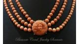 """Baccante"" Antique Sciacca Coral Necklace"