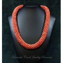 Tessito Coral Necklace